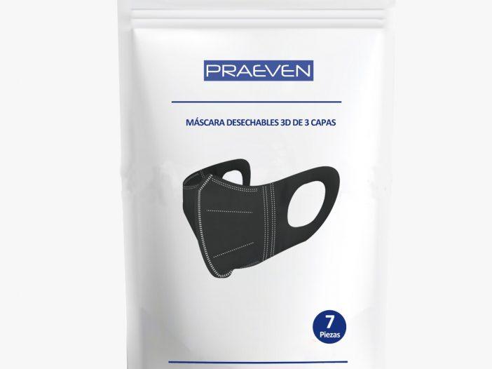 Hygienic 3D mask kit