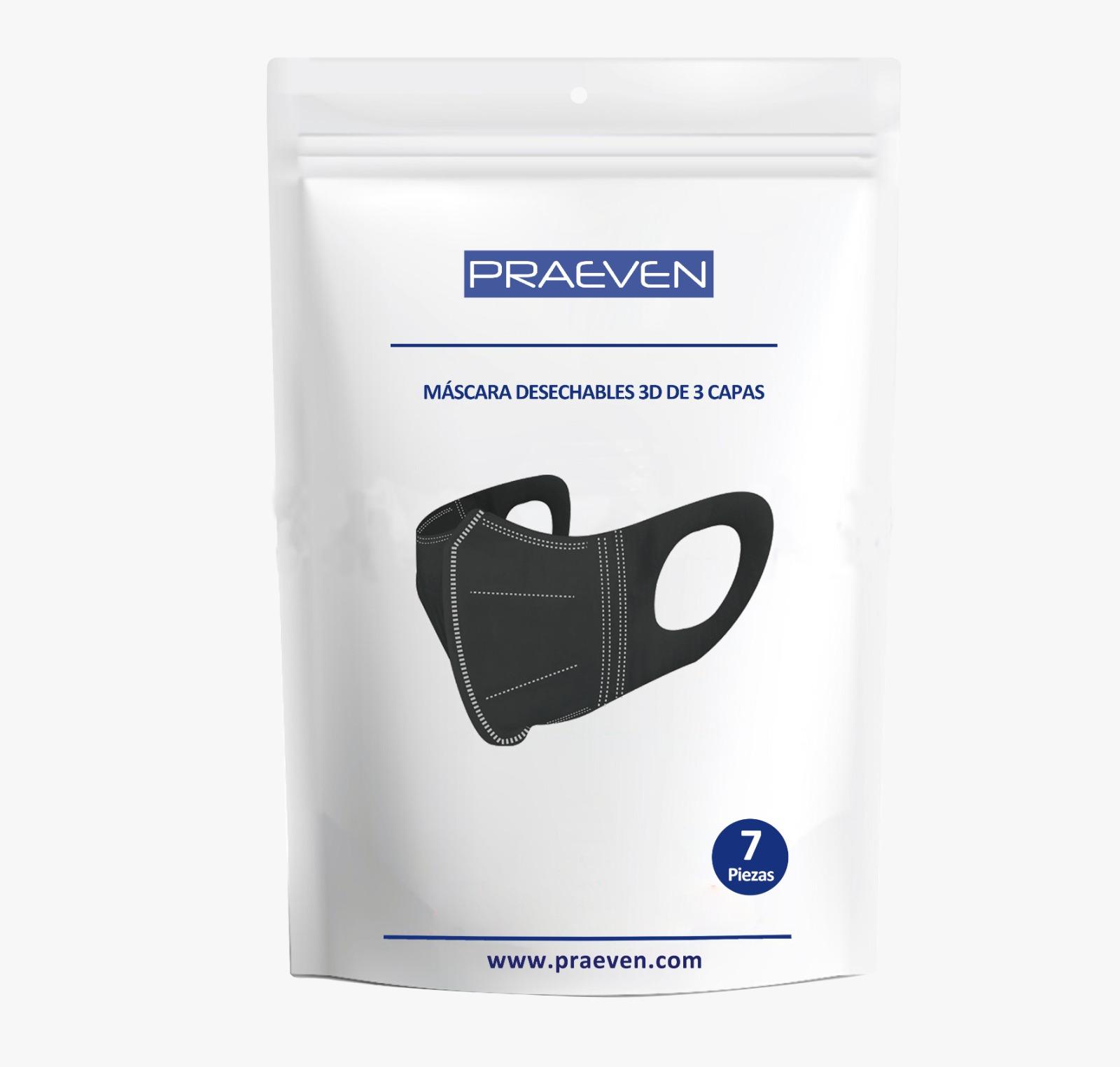 Kit de máscara higiénica 3D